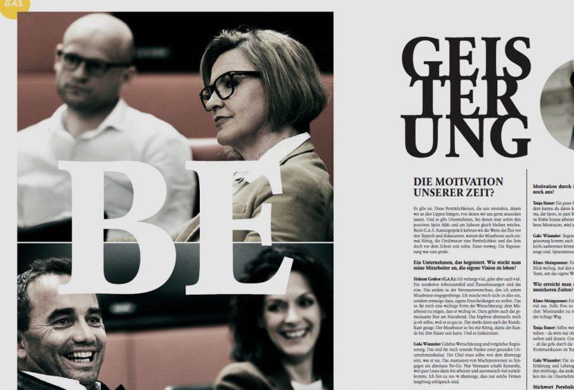 G.A.S. Blattl Wimmler Begeisterung