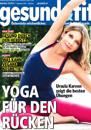 Gesund und Fit Zeitschrift Kolumne